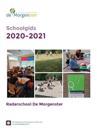 "Schoolgids radarschool ""De morgenster"""